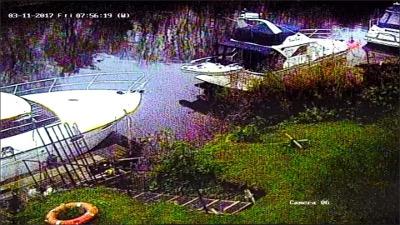 standard definition CCTV image